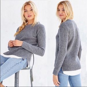 NWT UNIF x Urban Outfitters Waffle Mix Sweater S